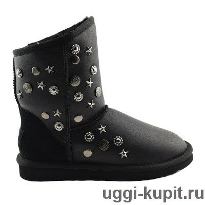 Ugg Jimmy Choo Starlit Black Metallic